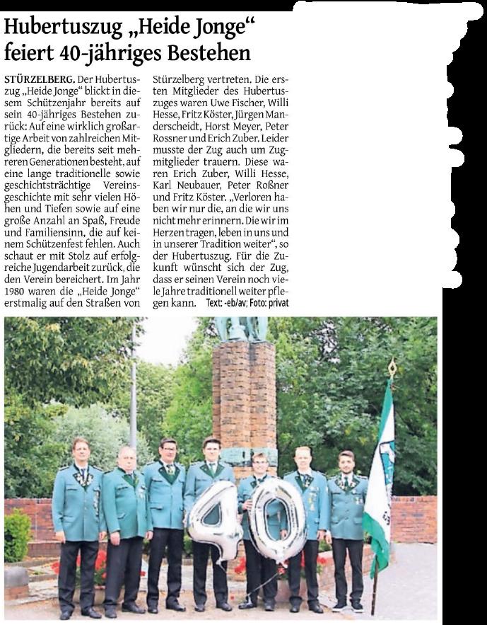 Zeitungsartikel - Rheinischer Anzeiger (08.08.2020)
